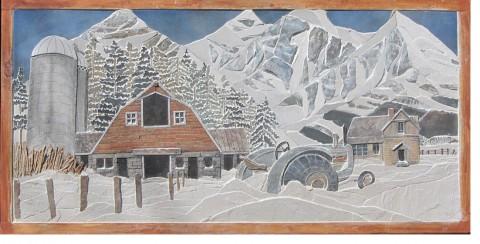 Chris Sumka tile painting