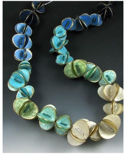 judy dunn folded beads