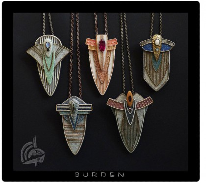 katya bo burden pendants