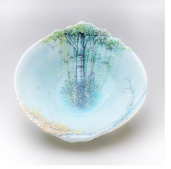 heesoo aspen shell bowl 350x346 - Forest in a Bowl
