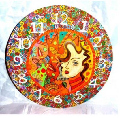 mira pinki krispil clock 430x412 - Covering Time