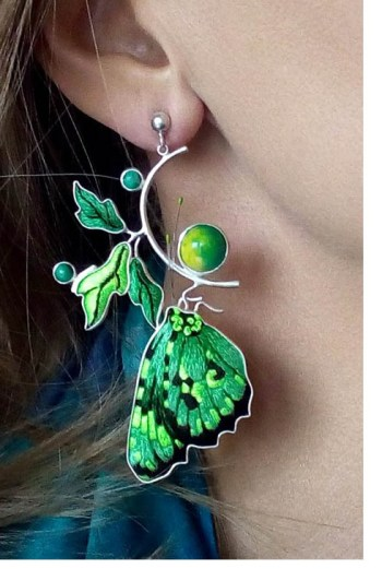 Jolanta Bromke green butterfly 302x450 - The Eclectic Artisans
