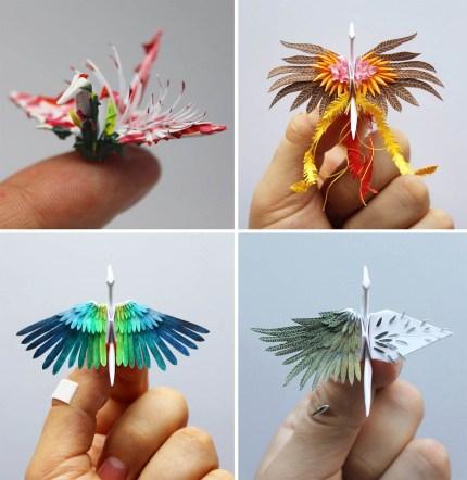 paper cranes 430x442 - Paper Cranes for Days