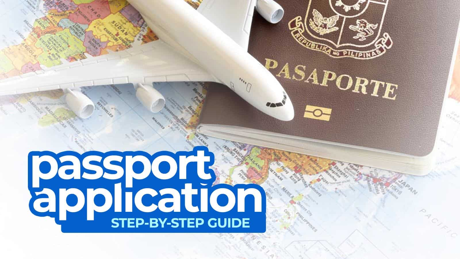 NEW PASSPORT APPLICATION: Requirements & Appointment Tips 2018