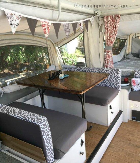 Teresas Pop Up Camper Remodel The Pop Up Princess