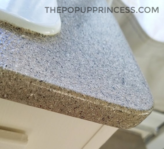 Paint Your Pop Up Camper Countertops