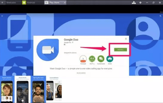 Google duo for pc softonic