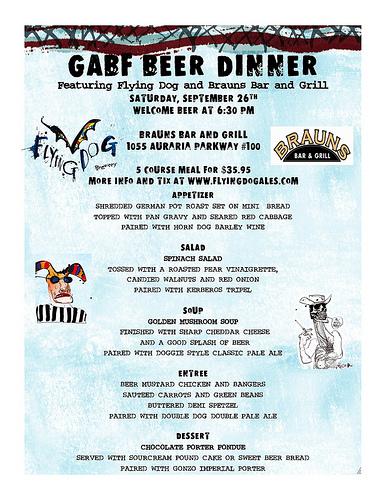 GABF Beer Dinner