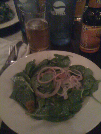 Beer Dinner Salad