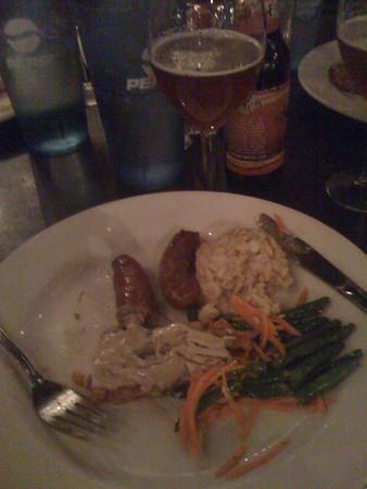 Beer Dinner Entree