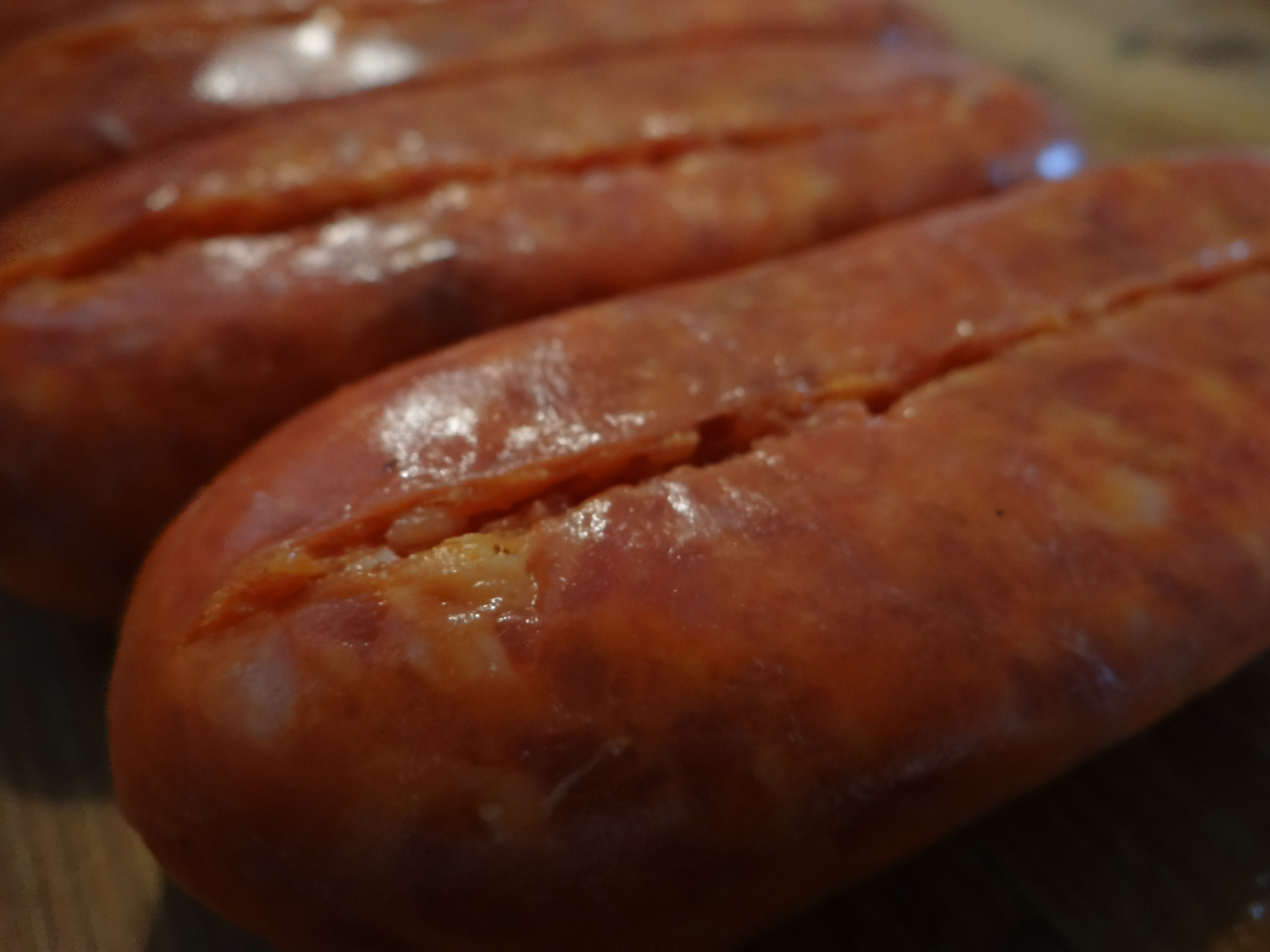 how to make hot sausage not so hot