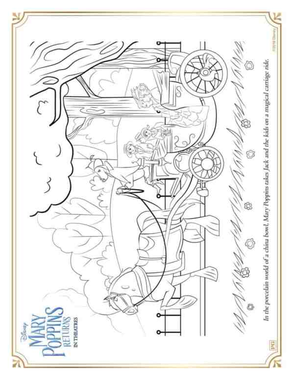 mary poppins coloring pages # 17