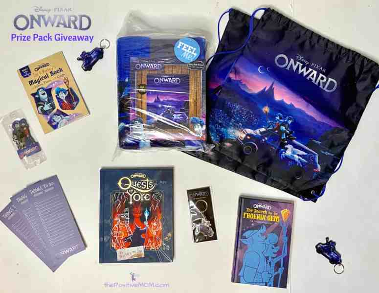 Disney Pixar ONWARD prize pack giveaway