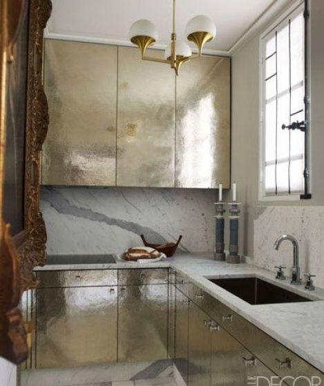 Elle Decor Kitchens: Small Kitchens, Big Design