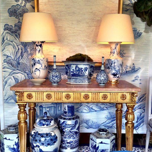 Amanda Carol Interiors White Base Colors Can: The Potted Boxwood
