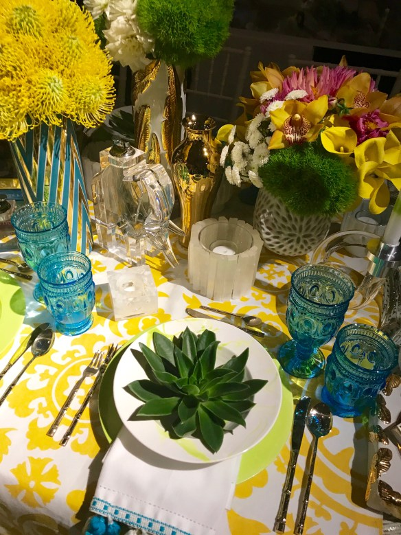 KKG Tablescapes 2017 photo by the potted boxwood 13