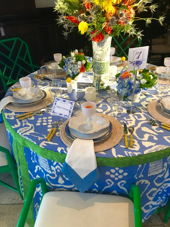 KKG Tablescapes 2017 photo by the potted boxwood 14