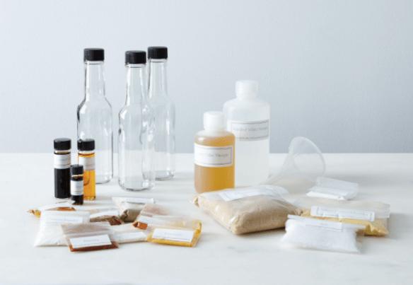 Make your own BBQ sauce kit via Food 52