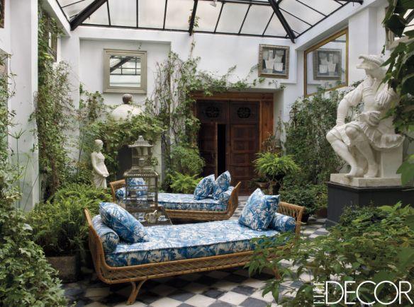 Lorenzo Castillo Foyer via Elle Decor