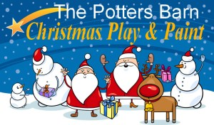 Christmas Play & Paint at The Potters Barn