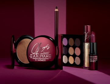 MAC x Aaliyah products