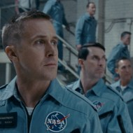 On the heels of their six-time Academy Award®-winning smash, La La Land, Oscar®-winning director Damien Chazelle and star RYAN GOSLING reteam for Universal Pictures' First Man, the riveting story of NASA's mission to land a man on the moon, focusing on Neil Armstrong and the years 1961-1969. Credit: Universal Pictures and DreamWorks Pictures