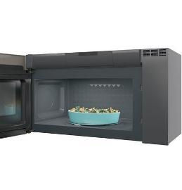 30 ge profile 2 1 cu ft spacemaker over the range microwave oven pvm2188sljc