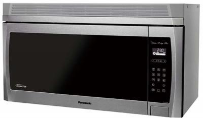 30 panasonic genius prestige plus over the range microwave oven nnse284w