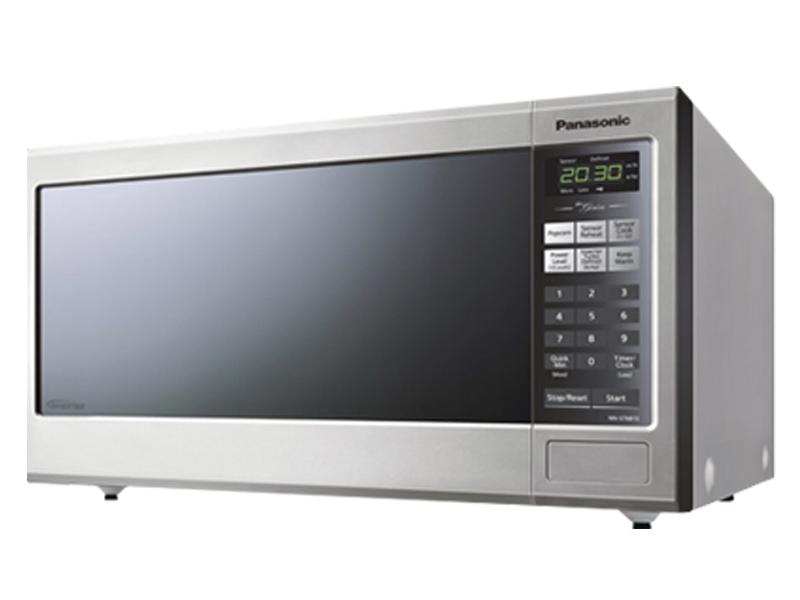 21 panasonic mid size genius inverter stainless steel microwave oven nnst681sc