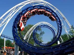 corkscrew-roller-coaster