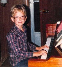 Jeff at piano young