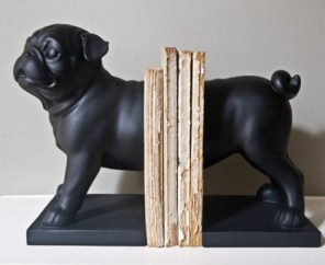 pug bookend