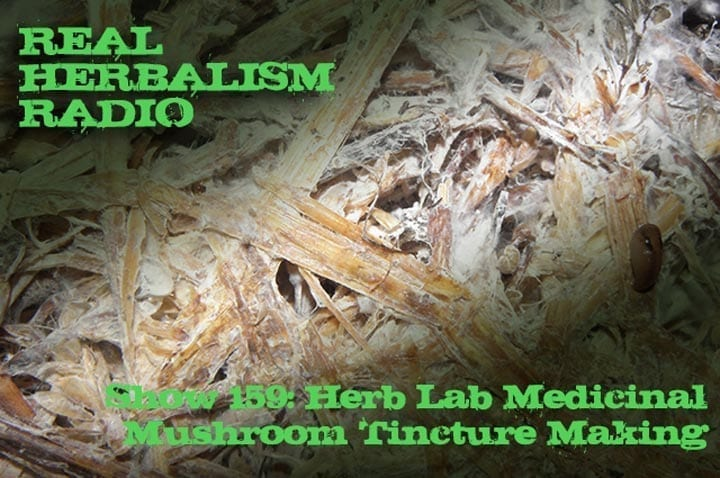 Show-159-Herb-Lab-Medicinal-Mushroom-Tincture-Making