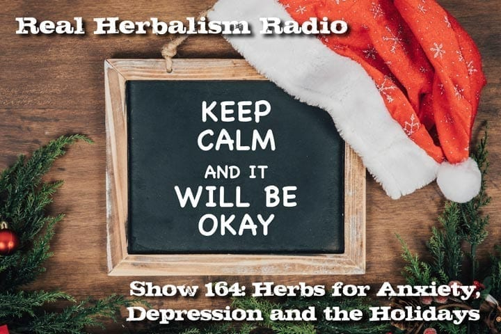 Herbs For Anxiety And Depression And The Holidays
