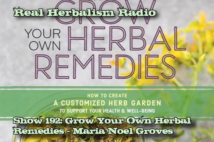 Grow Your Own Herbal Remedies Maria Noel Groves