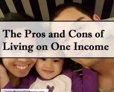 The Pros and Cons of Living on One Income