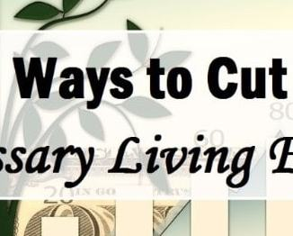 6 Ways To Cut Unnecessary Living Expenses