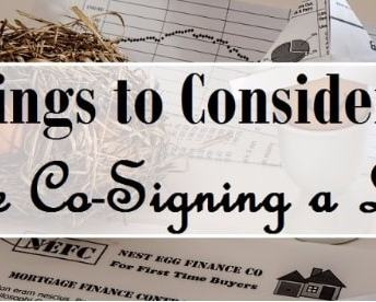11 Things to Consider Before Co-Signing a Loan