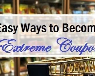 10 Easy Ways To Become an Extreme Couponer