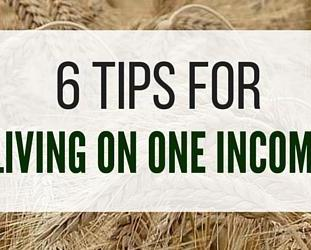 6 Tips For Living On One Income