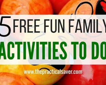 5 Free Fun Family Activities To Do