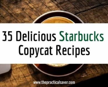 35 Delicious Starbucks Copycat Recipes