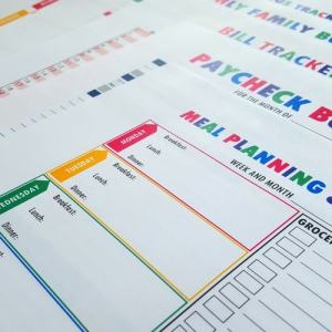 Budget Printable Binder Kit Budget Binder Printables
