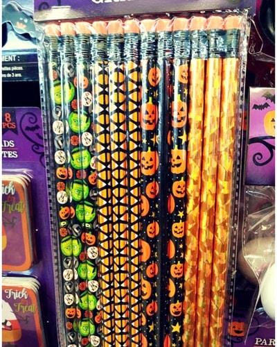 Halloween-Themed pencils