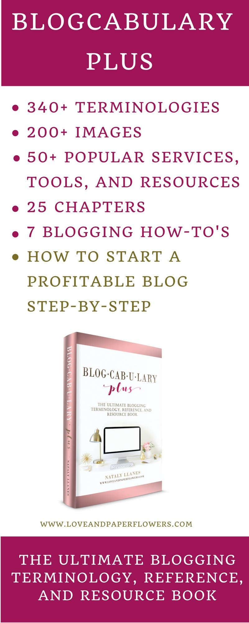 Interview with Nataly: Blogcabulary Plus – The Ultimate Blogging Book 3
