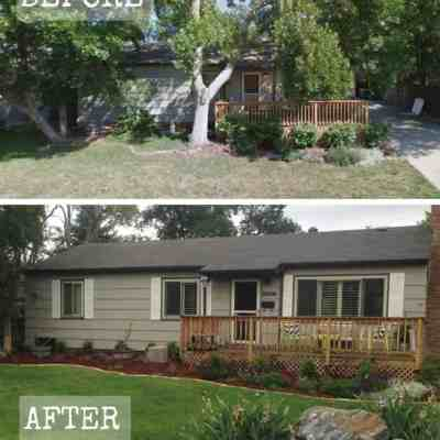 Curb Appeal: Before & After