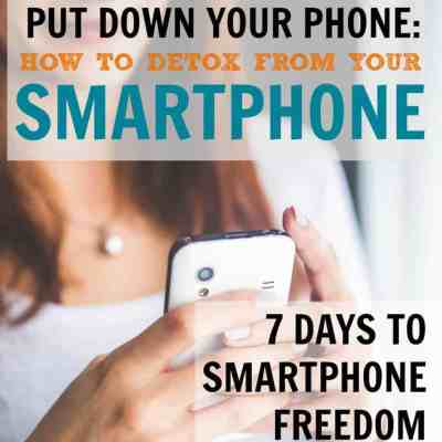 Kick Your Smartphone Addiction Starting NOW
