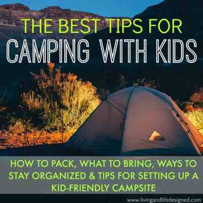 Great Tips for Camping with Kids