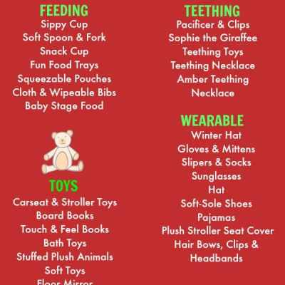 Baby's 1st Christmas Gift & Stocking Stuffer Ideas