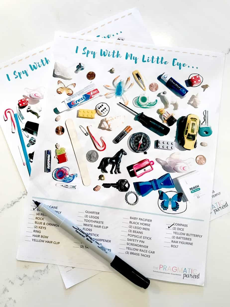 I Spy For Kids Printable Game Sheets To Keep Kids Busy